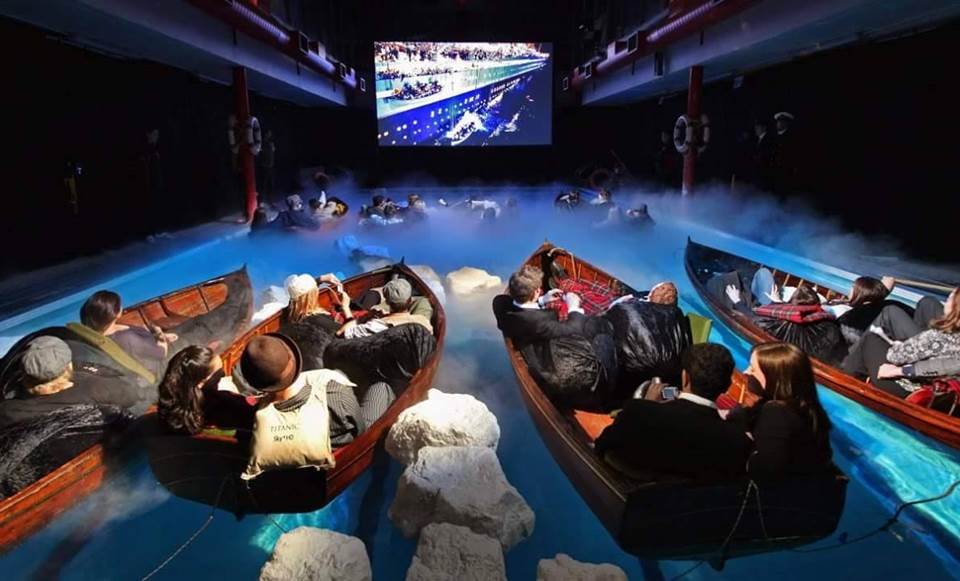 HD Experience To Watch Titanic Movie In Lifeboats
