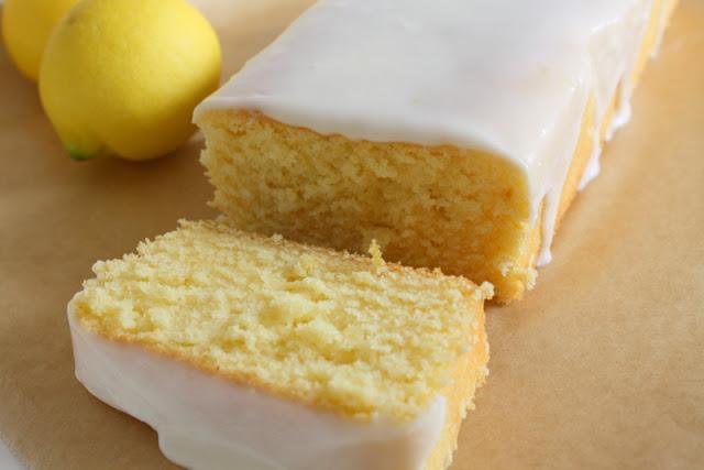 Good food recipes » Easy lemon cake recipe with glaze