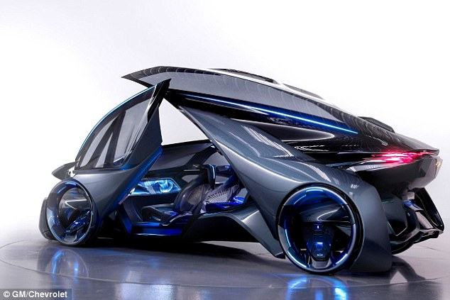 Chevrolet FNR Self Driven Concept Car  First Look