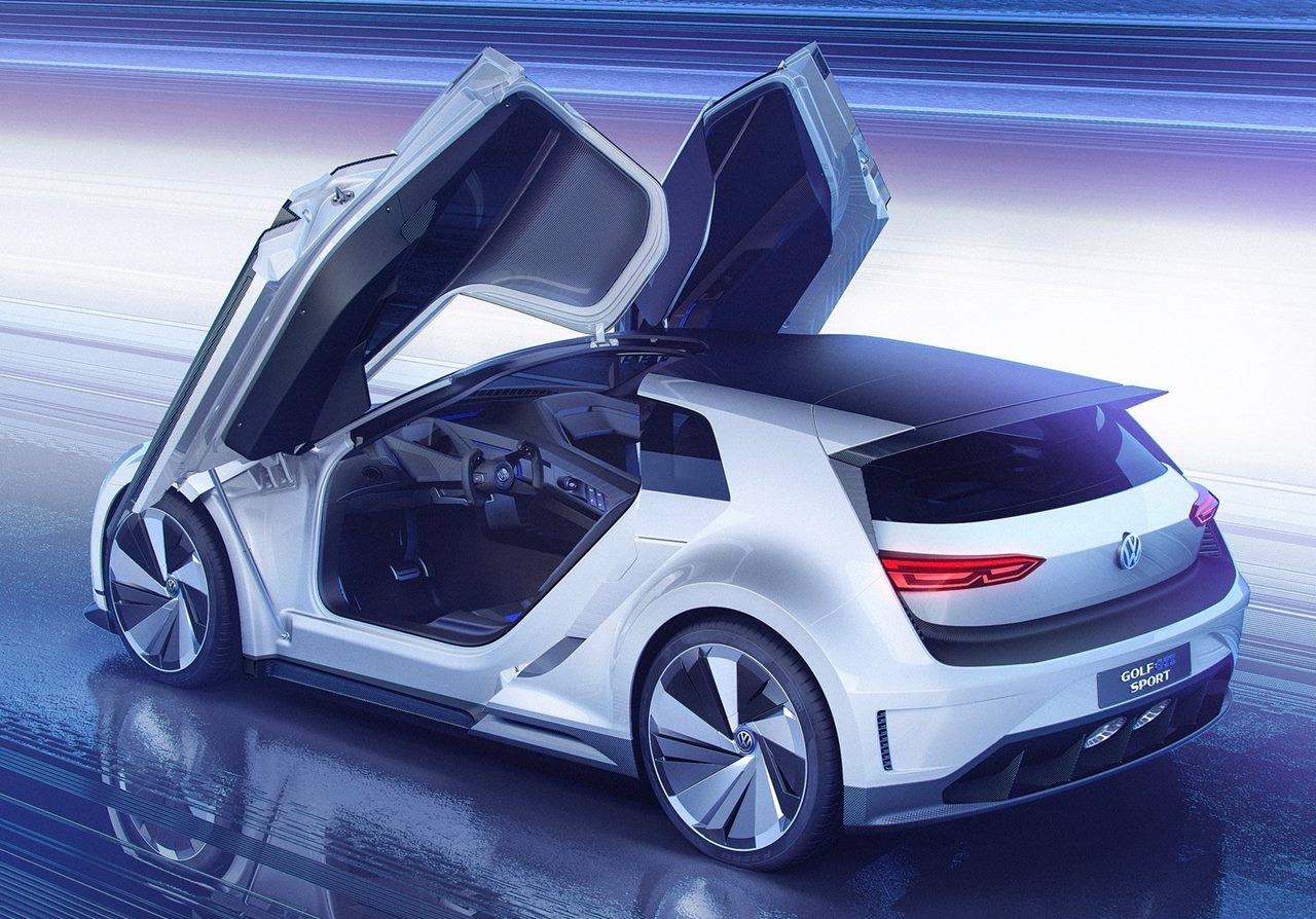volkswagen golf gte sport concept car wallpapers 2015. Black Bedroom Furniture Sets. Home Design Ideas