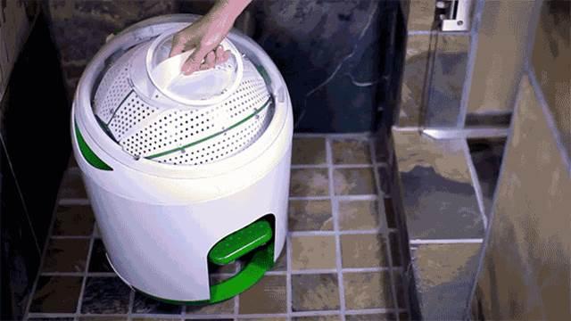 Worlds First Smart Washing Machine  Drumi by Yirego