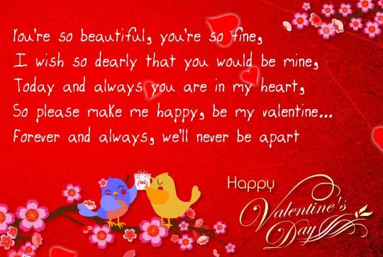Make Me Happy Be My Valentine