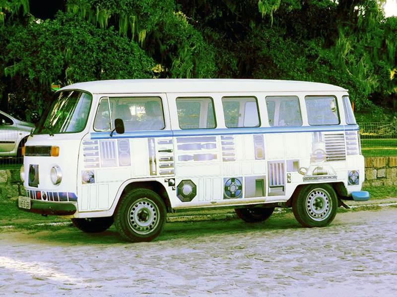 Vw R2 D2 Camper Bus Inspired By Star Wars Xcitefun Net