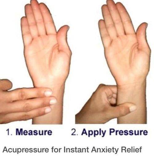 Acupressure for Instant Anxiety Relief - XciteFun.net