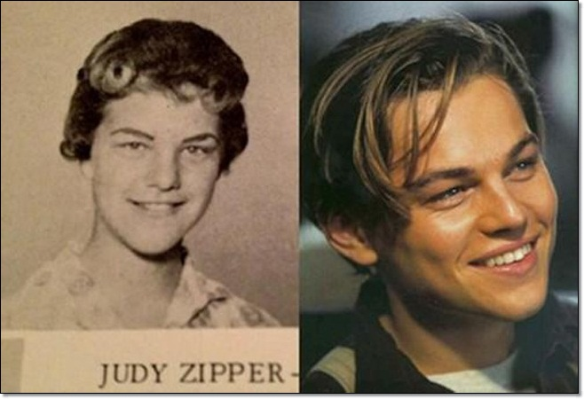 Celebrities Look Exactly Like Famous Old People