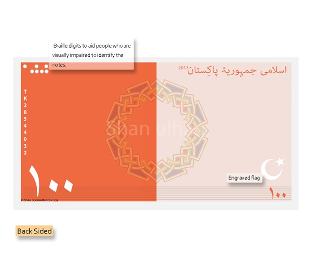 New Smart Currency Note For Pakistan  Concept Design
