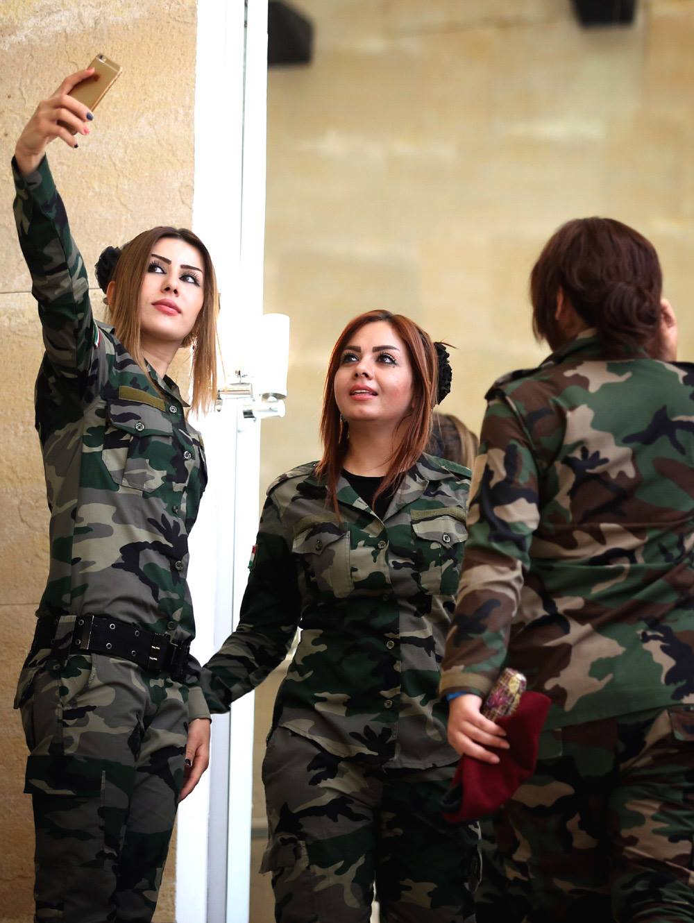 how to join kurdish army