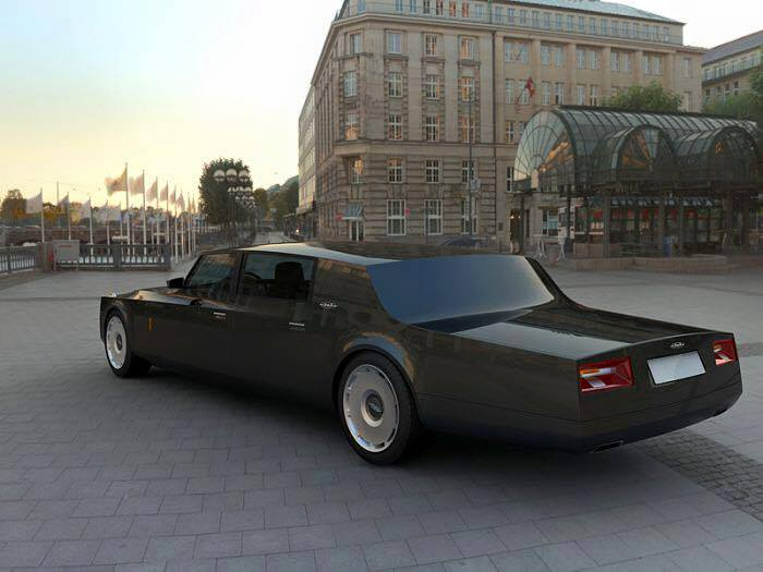 New Zil Limo Car For Russian President Xcitefun Net
