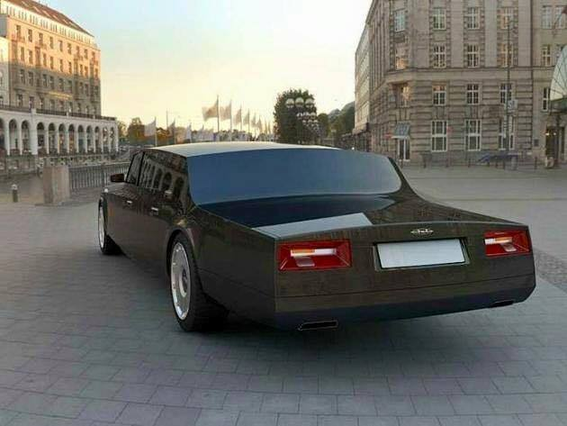 New ZiL Limo Car For Russian President  XciteFunnet