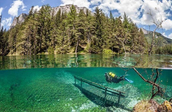 Lets Dive Into Underwater Park Austria