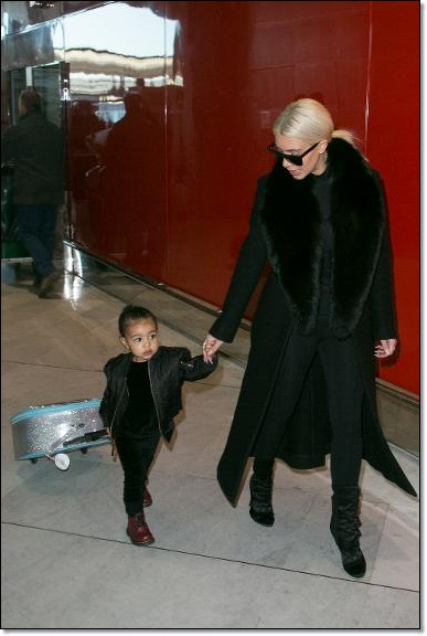 Cute looks of North West