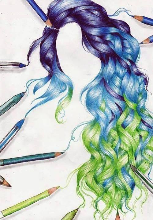 Drawings of Amazing Hair Styles - XciteFun.net - photo#38