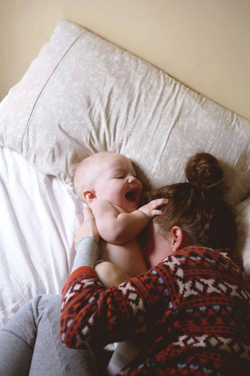 Cute Moms with Babies