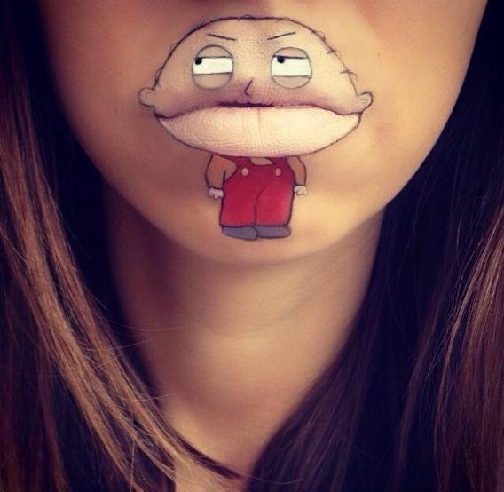 Cartoon Lip Art