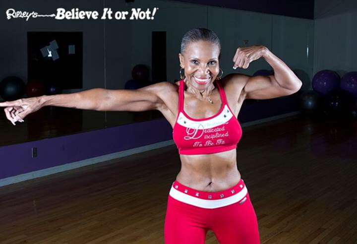 Worlds Oldest Competitive Female Bodybuilder
