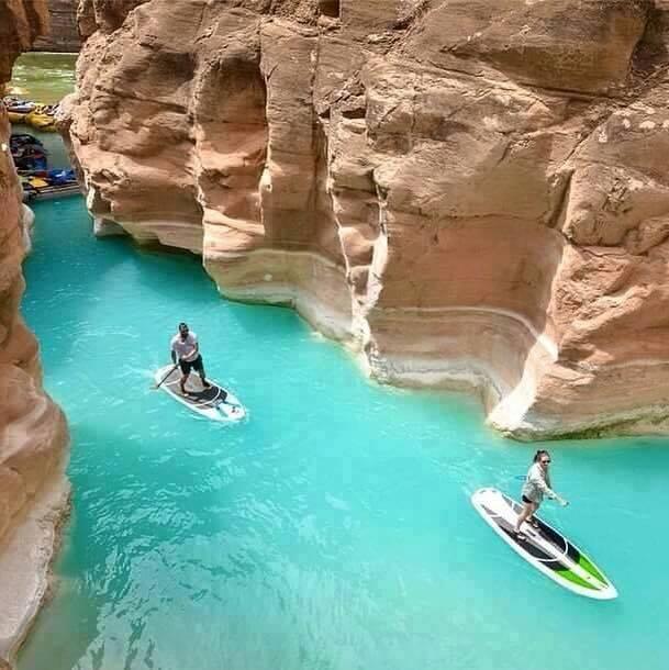 Grand Canyon Paddle Boarding Trip