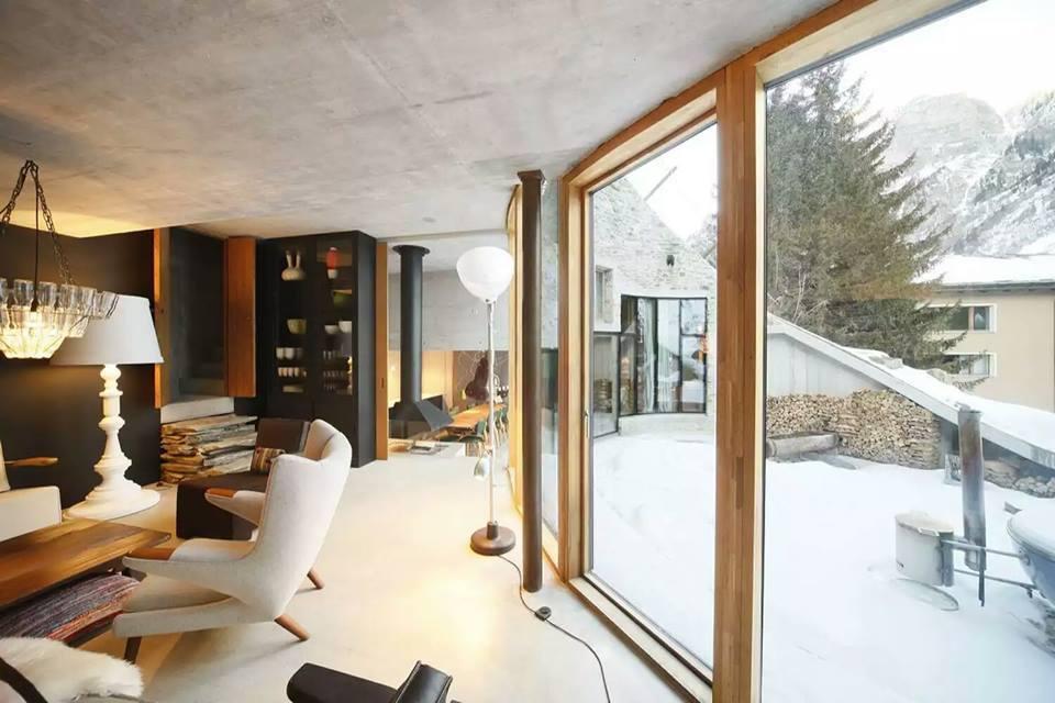 Spent Your Vacations at Villa Vals Switzerland