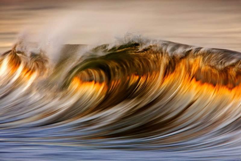 Amazing Golden Waves