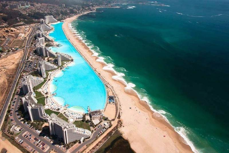 Summer Trip To The Largest Pool in The World