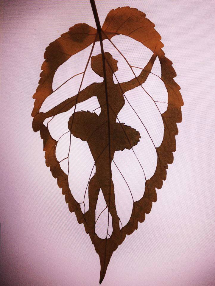 Leaf Cut Out Art - XciteFun.net
