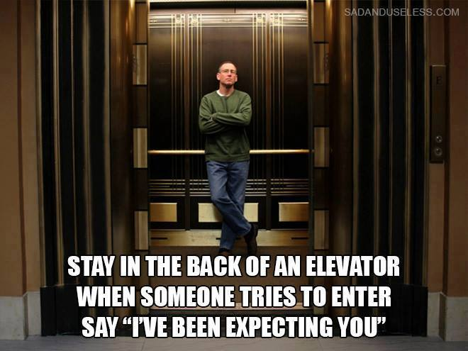 Funny Things You Must Try In The Elevator