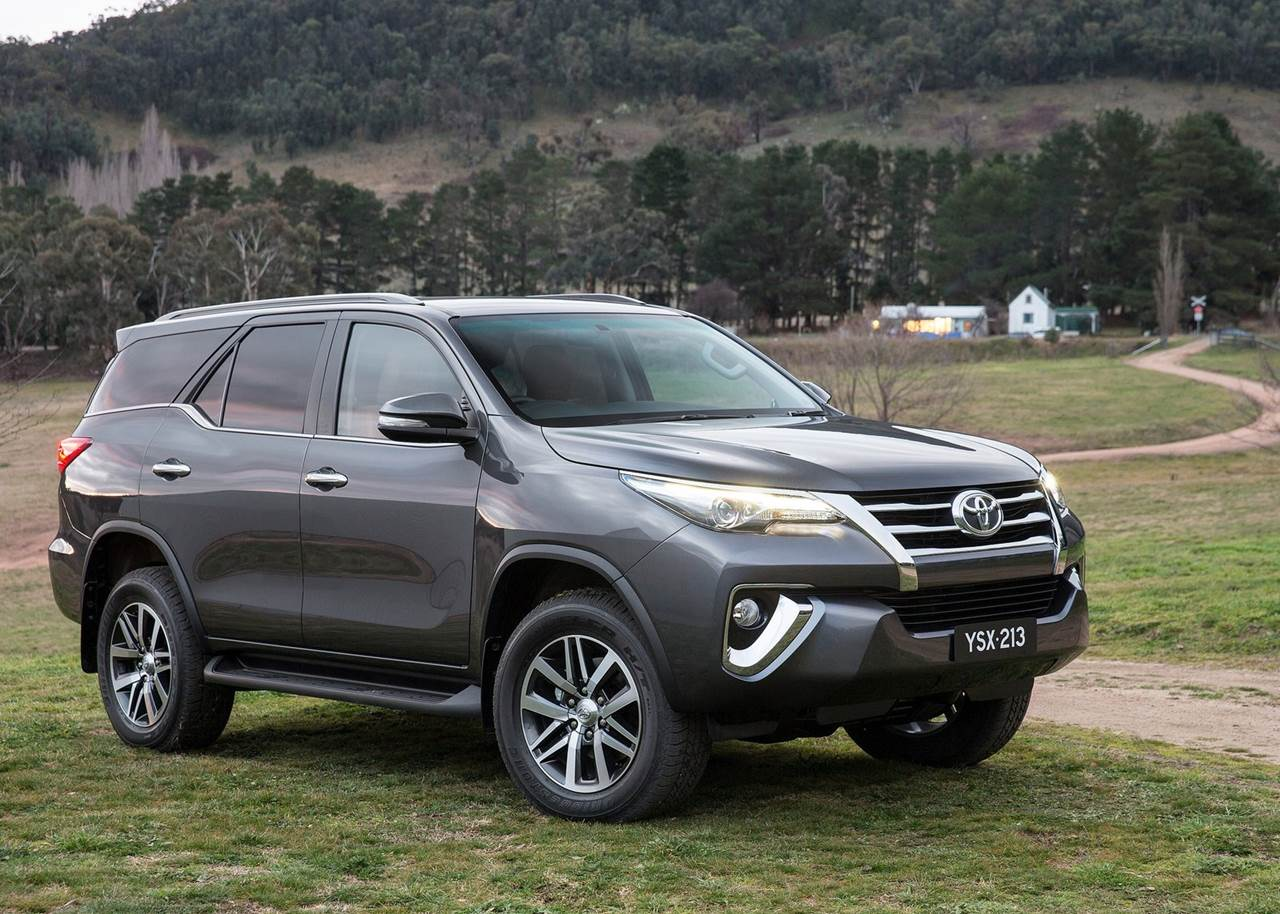 Toyota Fortuner Car Wallpapers 2016