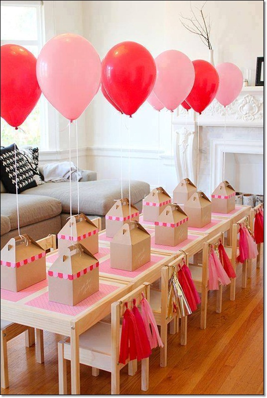 Balloons Decoration Ideas For Birthday Party