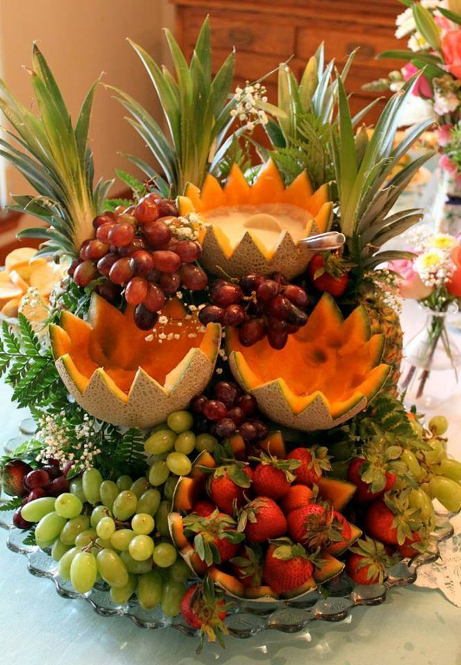 Fruit decoration ideas for Decoration fruit