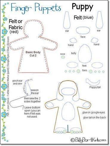 DIY Finger Puppet Ideas