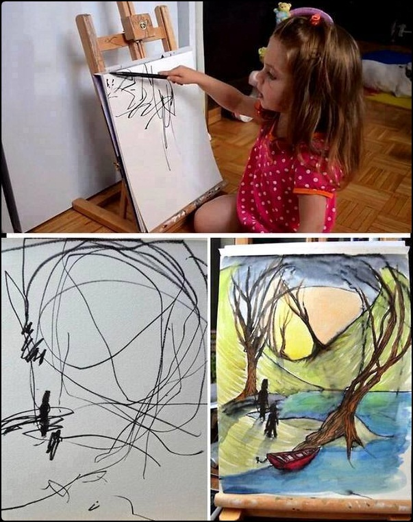 Only an Artist can do this