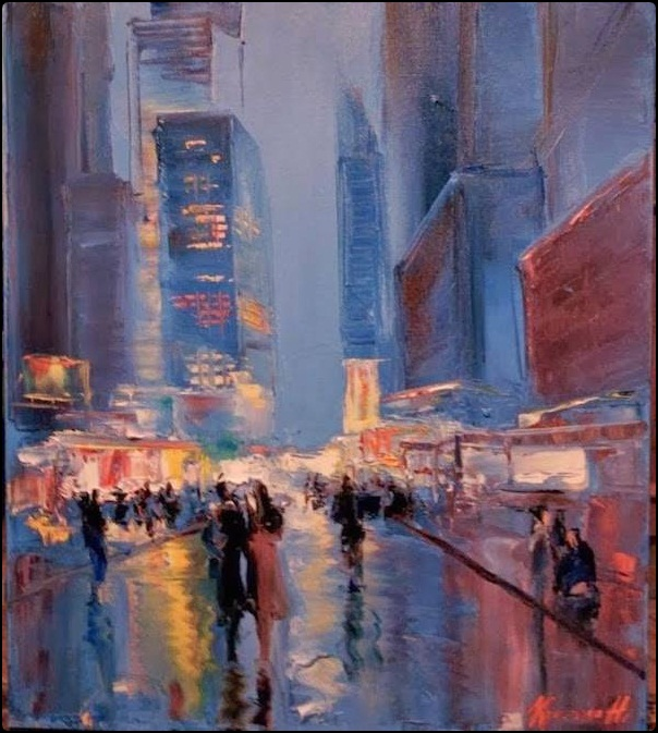 Dreamy Light Strokes in Landscape Oil Paintings