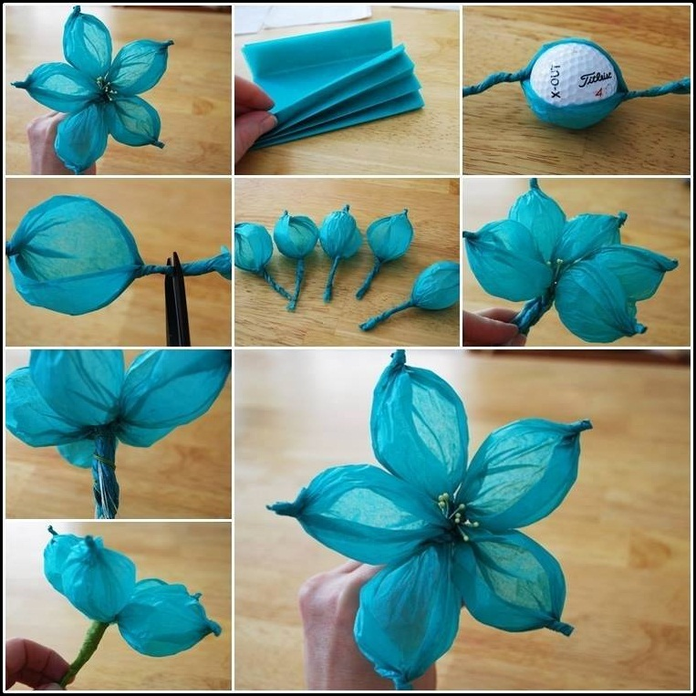 Net flowers making at home flowers healthy diy tissue paper flower tutorials xcitefun net mightylinksfo