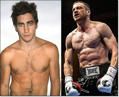Celebrities who get in shape for their Career