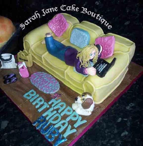 Celebrate Your Birthday With Sofa Cake
