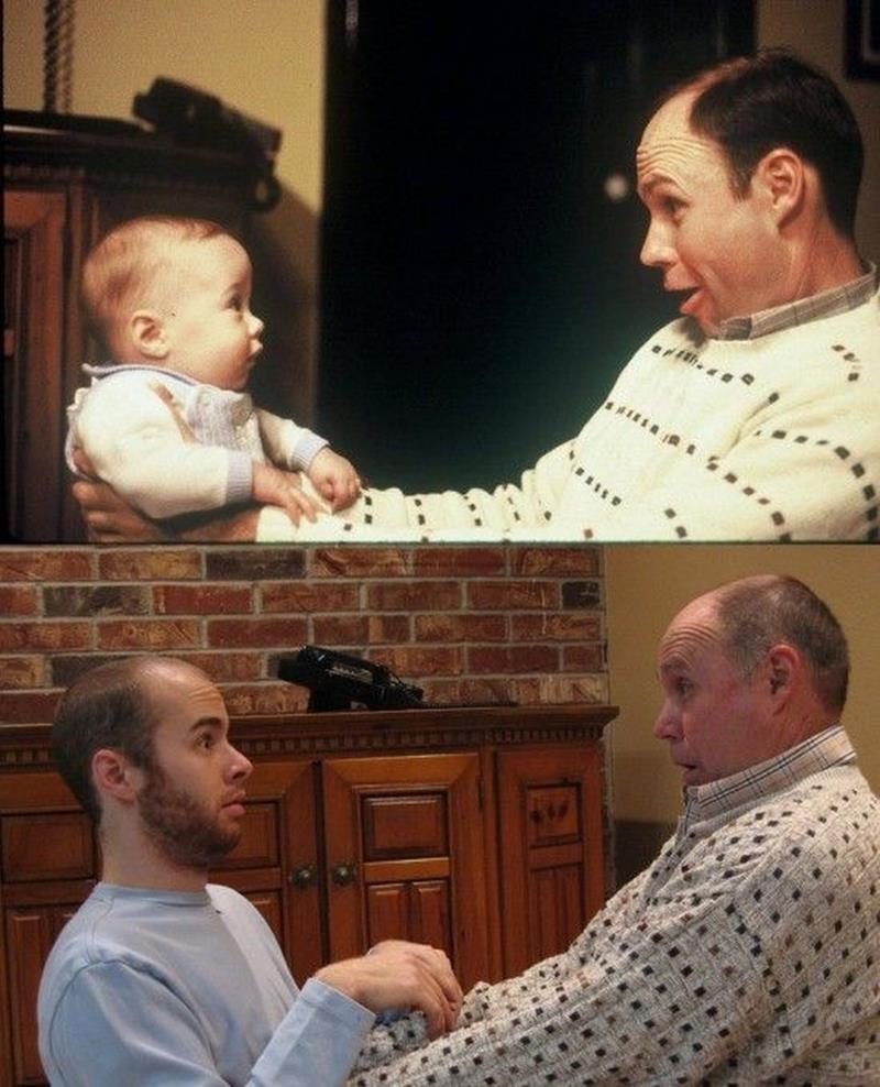 Childhood And Now  Amazing Pics