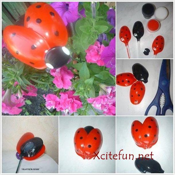 Creative DIY Plastic Spoons Ideas
