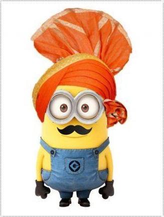 Bollywood Stars as Minions