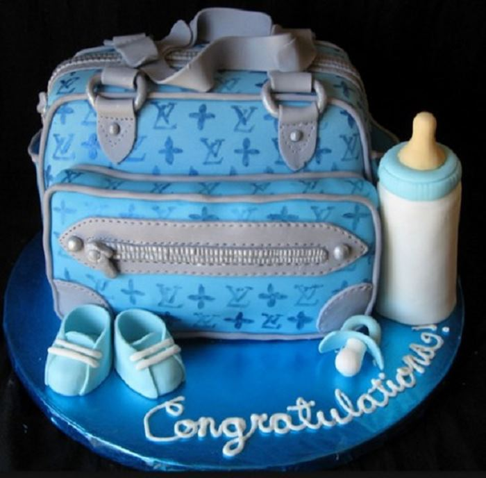 Amazing Diaper Bag Cakes For Baby Showers