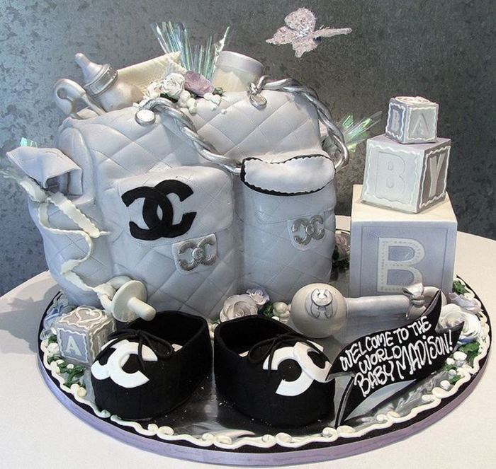 Ideas For Sayngs On Baby Shower Cakes