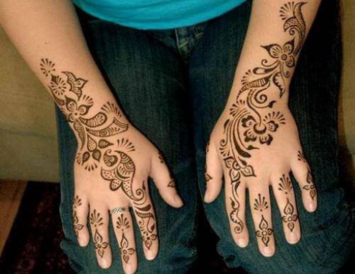 Mehndi Design Kaki : Punjabi mehndi design for girls xcitefun