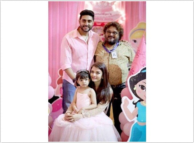 Aaradhya Bachan Birthday Party Pictures