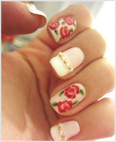 Trendy Winter Nail Art