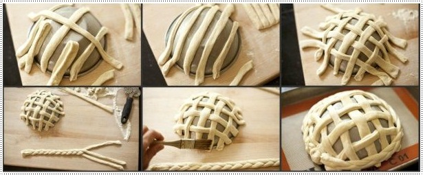 Different Shapes of Bread with Homemade Dough
