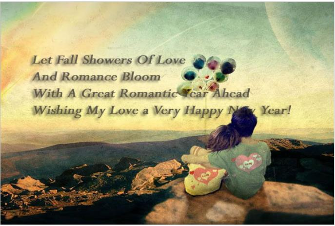 Romantic Happy New Year