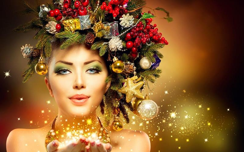 Happy New Year Fantasy Makeup Tips And Clips