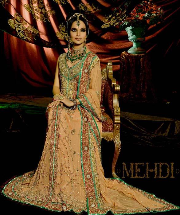 Bride Wear Formal  Dress By Mehndi