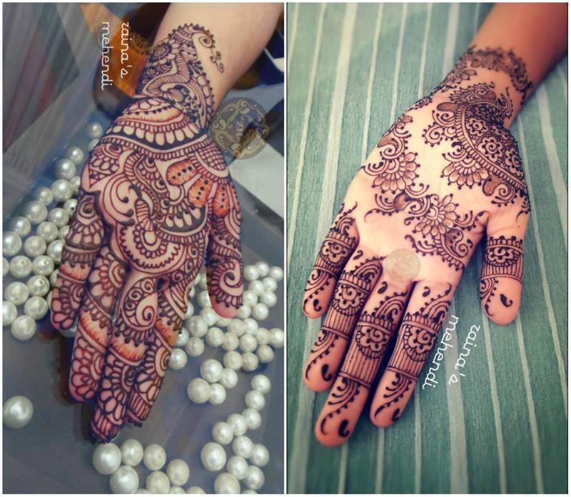 Kiran Sahib Mehndi Art And Tattoos New Trend