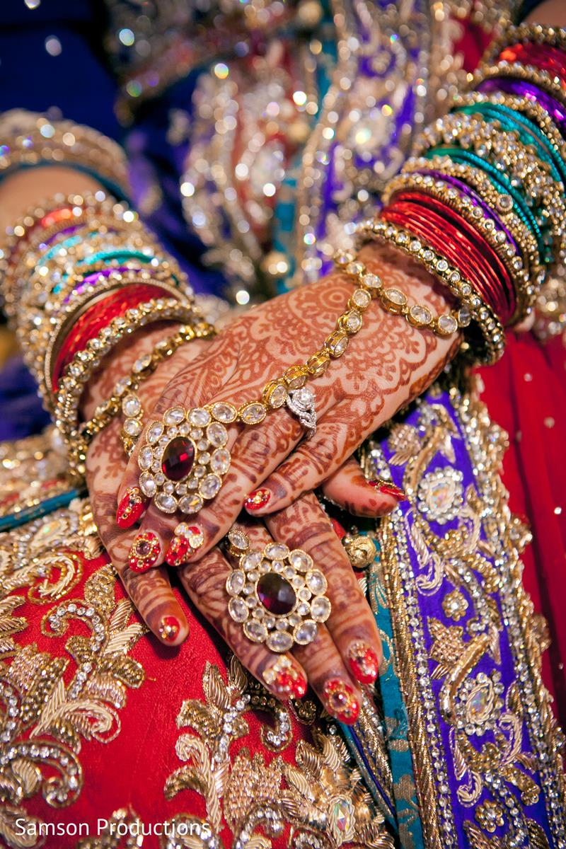 Bridal Mehndi Hand Jewelry And Bangles - XciteFun.net