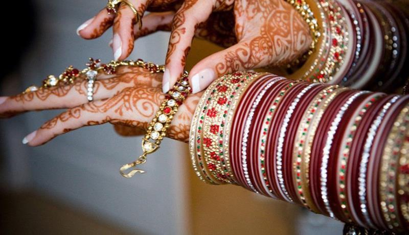 Bridal Mehndi Hand Jewelry And Bangles Xcitefun Net