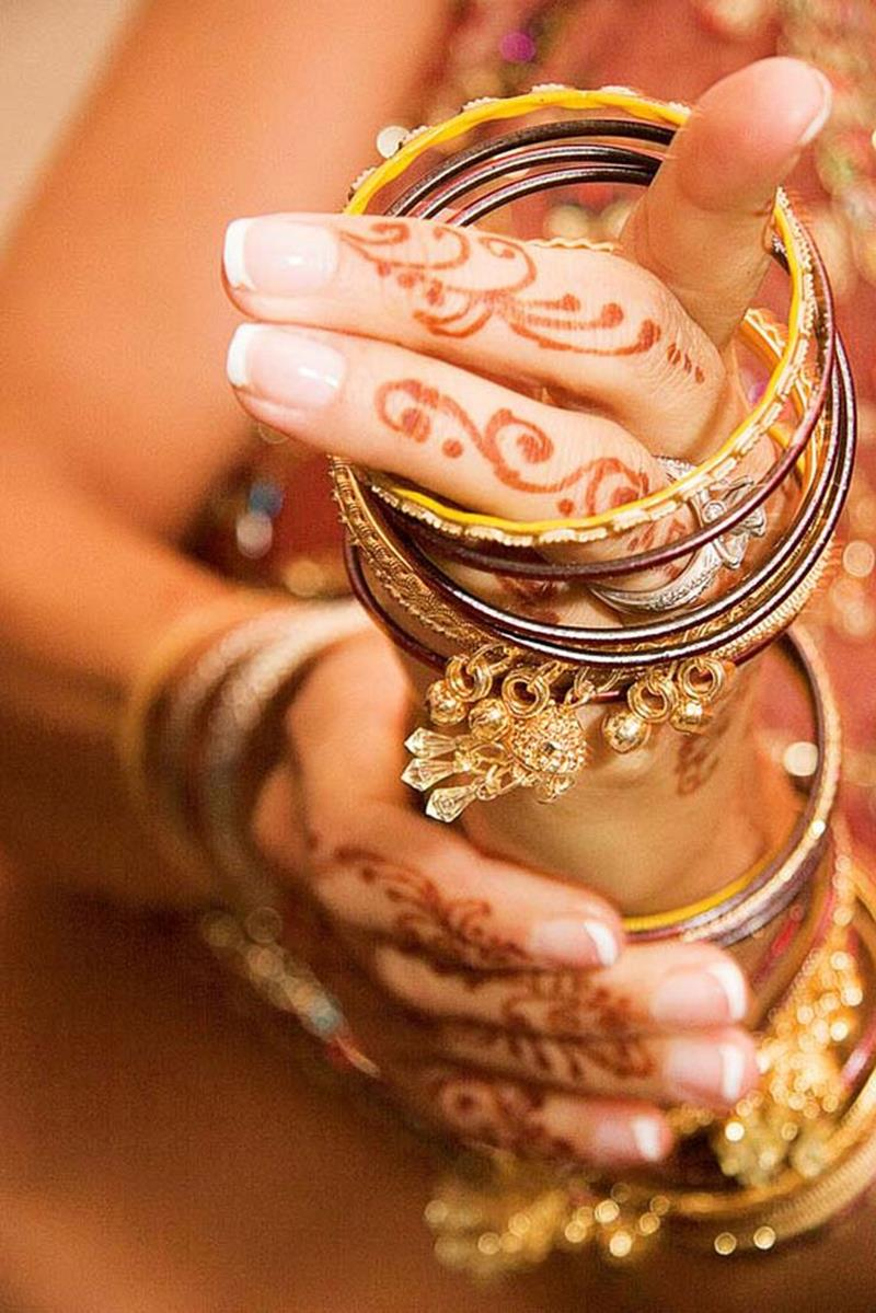 bridal mehndi hand jewelry and bangles xcitefunnet